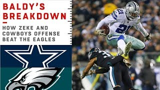 Download How Ezekiel Elliott Carried the Cowboys to Victory Over the Eagles | NFL Film Review Video