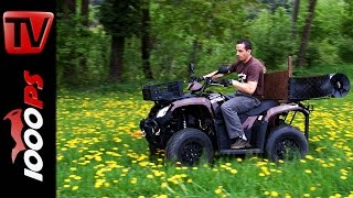 Download Kymco ATV MXU 465i Test Action Fazit Video