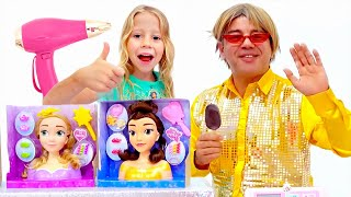 Download Настя и салон для принцесс Video