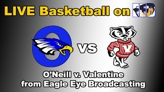 Download O'Neill v. Valentine Girls Basketball LIVE from O'Neill High School Video