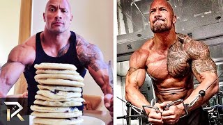 Download Dwayne Johnson's INSANE Diet and Workouts That Make Him RIPPED Video