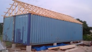 Download Container Home Build in pictures Part 1 Video
