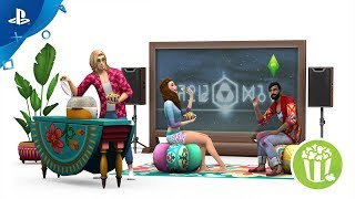 Download The Sims 4 Movie Hangout Stuff - Official Trailer   PS4 Video