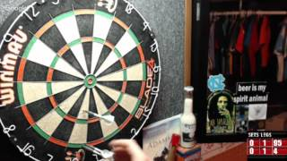 Download Rattlesnake vs Robby -WDA Darts Video