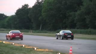 Download Mazda RX-8(191PS) VS. Mazda RX-8 (231PS) Drag 1/4 Mile @ German Race Wars 2010 Video