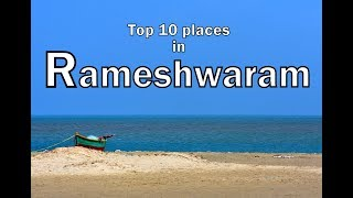 Download Top 10 places to visit in Rameshwaram - best tourist spots Video