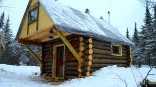 Download Cozy Log Cabin- How I built it for less than $500. Video