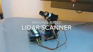 Download Arduino-based LIDAR Scanner Video