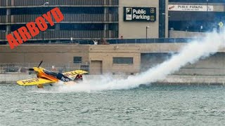 Download Matt Hall Skims Water - Red Bull Air Race Qualifying (2010) Video
