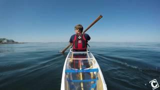 Download 3D Printed Skin-On-Frame Kayak Water Test Video