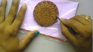 Download Terracotta jewellery : how to make a SIMPLE & EASY peacock design without using mould Video