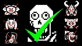 Download What happens if you kill everyone but Papyrus? Video