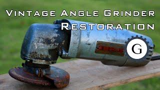 Download Vintage Disc Grinder Restoration [Hitachi Brand - Unknown Year] Video