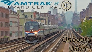 Download Amtrak at Grand Central - Onboard and More Hotspots Around NYC! Video
