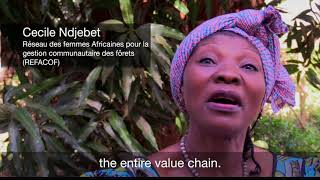 Download Voices on Forests with Cecile Ndjebet Video