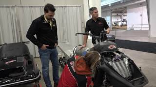 Download Check out this battery booster starting the 4 stroke Yamaha! Video