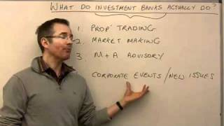 Download What do investment banks actually do? - MoneyWeek Investment Tutorials Video