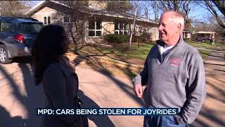 Download Madison police believe cars are being stolen for joyrides Video