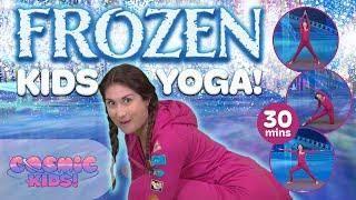 Download Frozen | A Cosmic Kids Yoga Adventure! Video