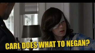Download The Walking Dead Season 7 Episode 7 Preview & Sneak Peek Carl Grimes Becomes A Badass? Video