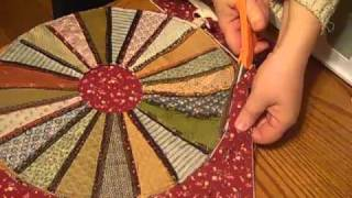 Download Accuquilt Go! Candle Mat from Dresden Plate Video