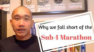 Download why we fall short of the sub 4 hour marathon Video