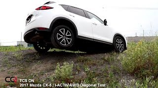 Download Diagonal / i-ACTIV AWD Test | 2017 Mazda CX-5 | Review 2/4 Video