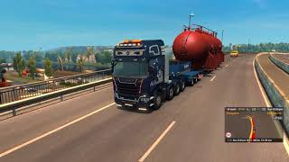 Download [Special Transport DLC] ETS2 - Heat Exchanger (70t) from Nantes to Civaux (1440p) Video