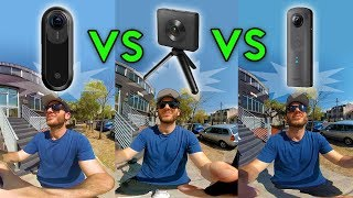 Download Insta360 One vs Theta V vs Xiaomi - Video Comparison (4k) Video