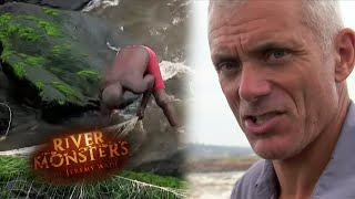 Download The World's Most Extreme Fishermen - River Monsters Video