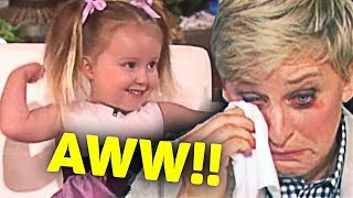 Download This Kid Made Ellen Cry... After She... Video