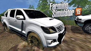 Download Caminhonetes Patinando no Circuito de Lama - Farming Simulator 2015 Video
