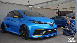 Download This Renault Zoe is a 460hp Electric HYPER HATCH! Video