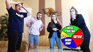 Download SPIN THE WHEEL FOR YOUR PUNISHMENT... *CRAZY FAMILY DARES* Video