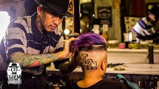 Download LA Tattoo Hair and Galaxy Colour for dope kid | Liem Barber Shop's Collection Video