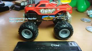 Download Micro RC 4WD Burger King Monster Truck Video