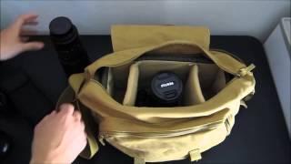Download Bestek Canvas DSLR Camera Bag Review Video