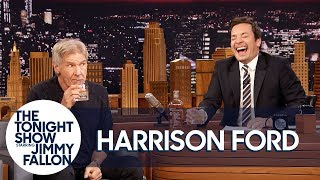 Download Harrison Ford and Jimmy Sip Glasses of Scotch and Tell Each Other Jokes Video