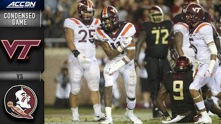 Download Virginia Tech vs. Florida State Condensed Game   2018 ACC Football Video