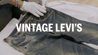 Download How to see vintage Levi's 501s | FASHION AS DESIGN Video