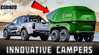 Download 8 New Campers and Smart Vacation Vehicles with Innovative Interior and Exterior Features Video