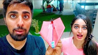Download This $50 Paper airplane has a REAL ENGINE !!! Video