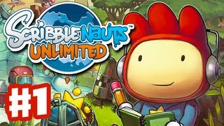 Download Scribblenauts Unlimited - Gameplay Walkthrough Part 1 - Funny Times in Capital City (PC, Wii U, 3DS) Video