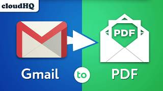 Download Save Your Gmail Emails to PDF, CSV, or Excel Video