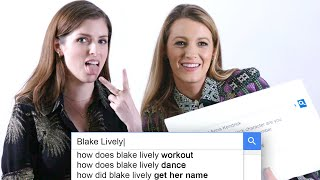 Download Anna Kendrick & Blake Lively Answer the Web's Most Searched Questions | WIRED Video