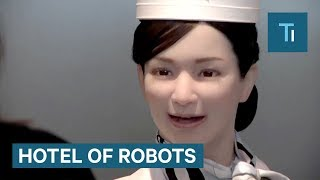 Download Japanese Hotel Run Almost Entirely By Robots Video