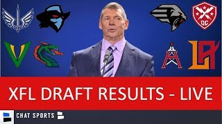 Download XFL Draft Results - LIVE For All Rounds Video