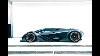 Download Hell Has Frozen Over: Meet Lamborghini's All-Electric Terzo Millennio Concept Video