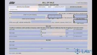 Download Bill of Sale Video