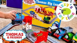 Download RARE THOMAS TRAIN TOMY! Thomas and Friends Big Loader Playset | Fun Toy Trains for Kids Video